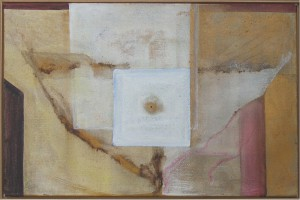 icarus 70x100 pigment, acrylop doek gonny geurts