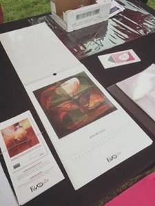 Kijk nou mijn Nymphea op de Kunstkalender 2016! Ze zijn klaar en te bestellen bij www.passievoormooiwerk.nl